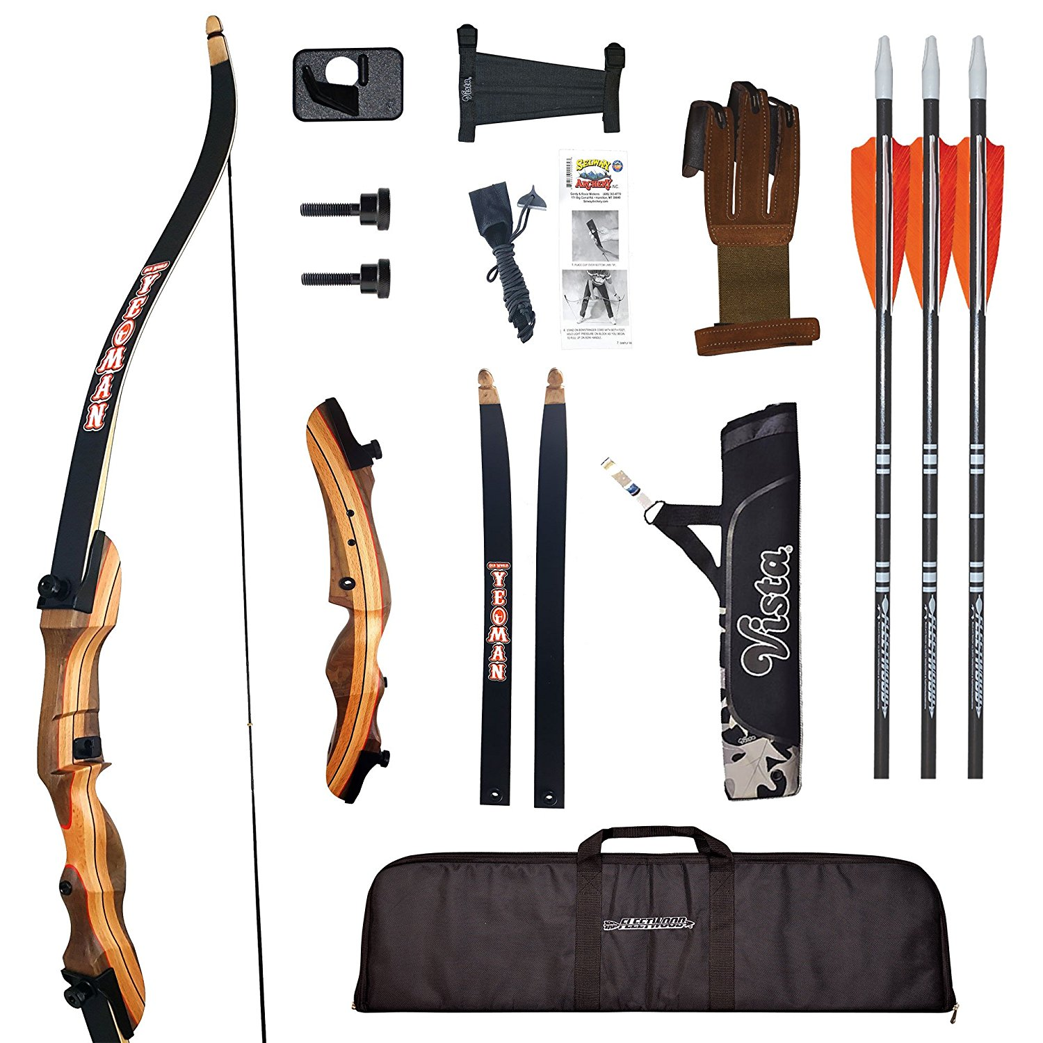 Buy PSE® Optima Heritage Recurve Bow Right, 15# in Cheap