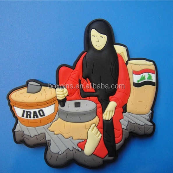 IRAQ travel souvenir fridge magnet, big size tourist souvenir fridge magnet