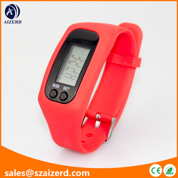2d Sensor Multi Functional Bracelet Pedometer With Steps Calorie Distance Individual Stride Weight Function