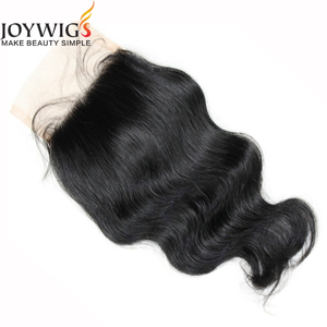 2016 Jiaozhou Factory price Large stock 10A grade Brazilian human hair130% density body wave lace front closure
