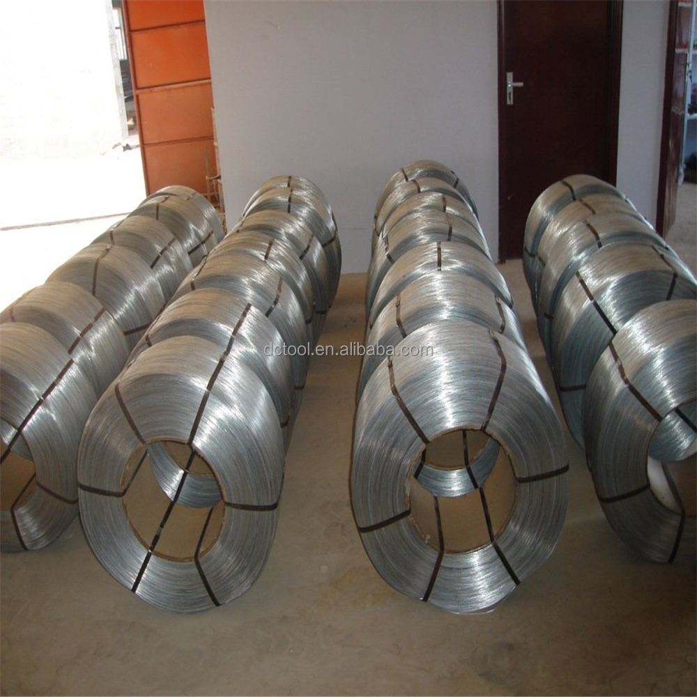 Zinc plating galvanized iron wire