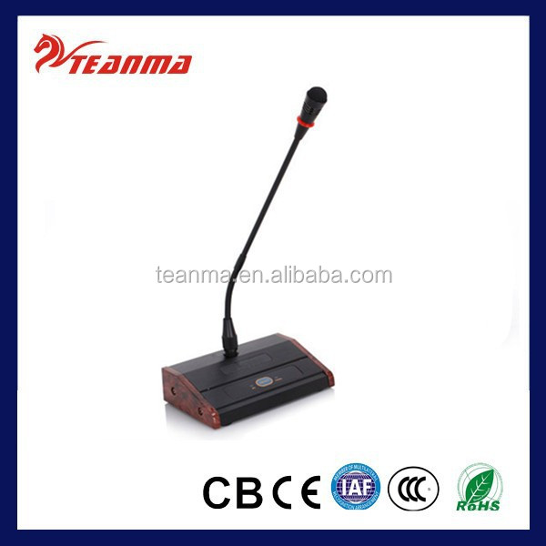 Desktop meeting microphone TM100 wireless microphone price wireless conference room microphone system