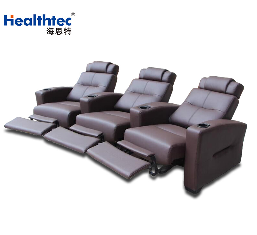 Electric Recliner Theatre Sofa With Led