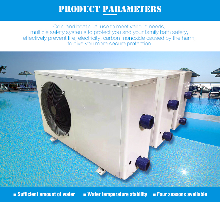 ODM OEM Capacity Industrial Malaysia Swimming Pool Water Cooling Chiller