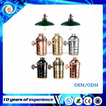 vintage docoration style suitable for E26 E27 bulbs best lighting accessories lamp holder