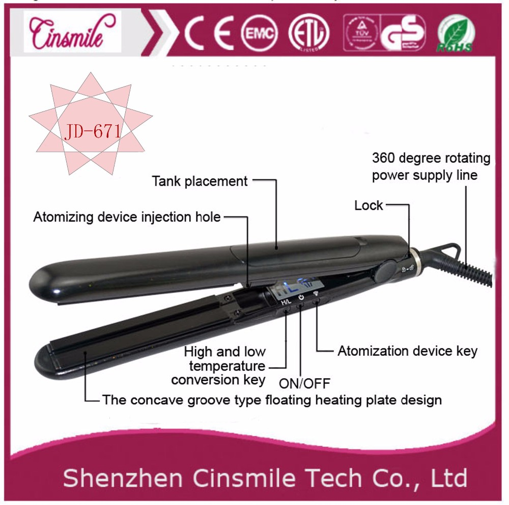 Best Selling Products ionic ceramic flat iron fast heat design gorgeous hair straightener