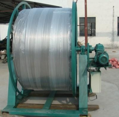 low carbon alloy steel Coiled tubing reel