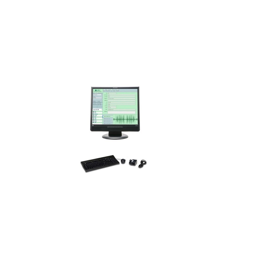 Get Quotations · 17 Planar ND1750 1280x1024 USB Ethernet w/Speakers With  Integrated Thin CLient Network LCD Display