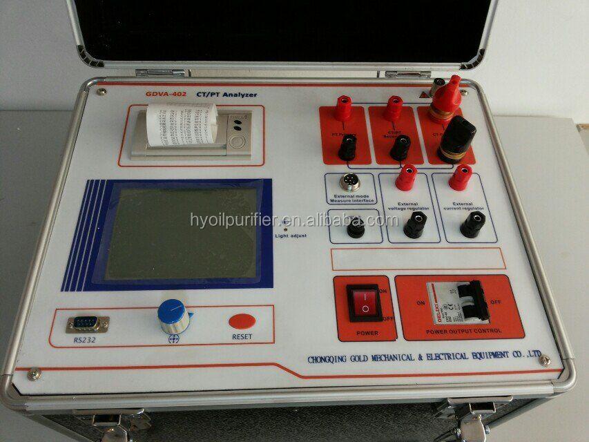 GDVA-402 CT PT Meter Transformer CT PT Analyzer