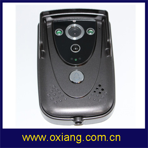 new product wireless video door phone/wifi video door phone/video door bell made in china