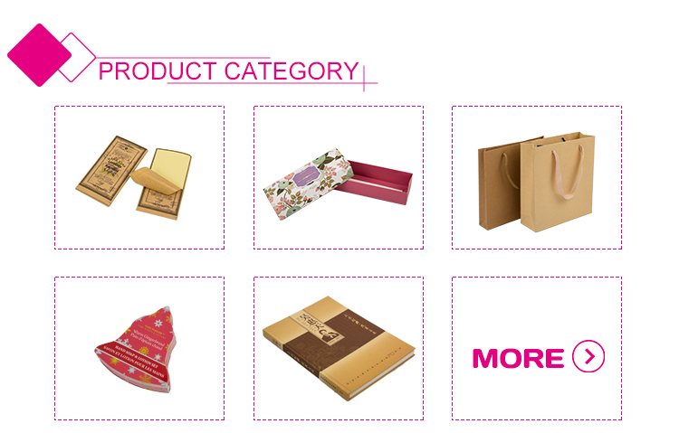 Christamas bell shape folding paper gift box packaging with window