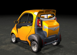 EEC approved two seats small ecar with 4.5KW or 5.6KW motor
