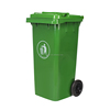 240L Big Size Outdoor Use Garbage Bin Mobile Trash Can