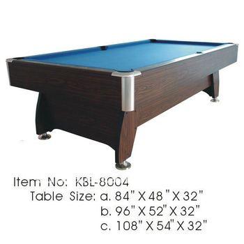 9ft International Standard Size Cheap Pool Table,Automatic Ball Return  System Billiard Table KBL