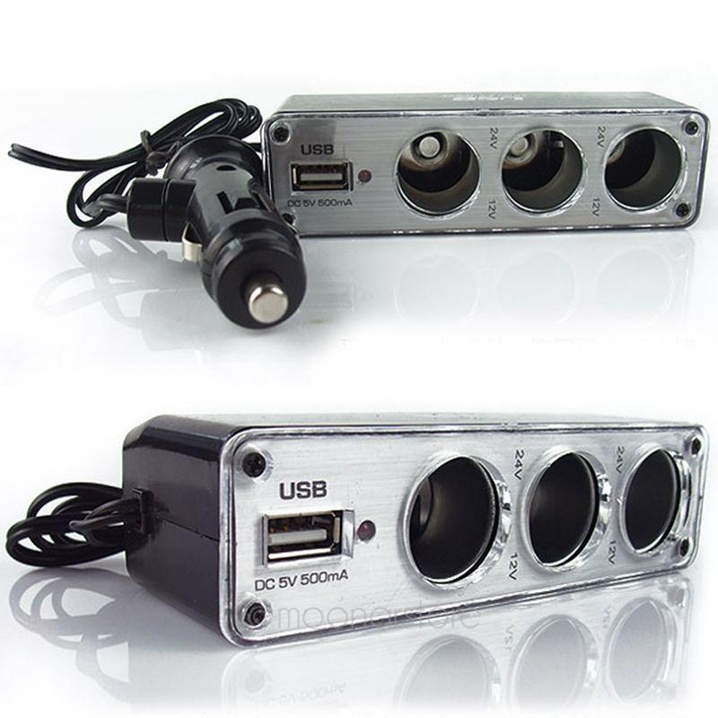Автомобильного прикуривателя разветвитель зарядное устройство удлинитель автомобиля автоэлектрика аксессуары инверторы LS * MHM366 # A2