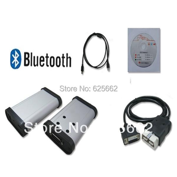 2014.2 версия + из светодиодов автомобиля OBD разъем черный TCS CDP плюс с bluetooth DHL