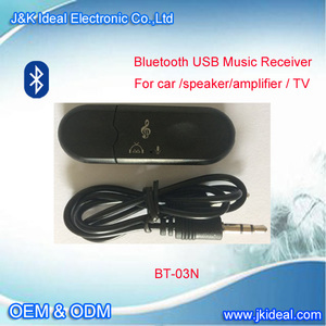 BT-03N USB blue tooth audio dongle /adapter /hub/receiver for mp3 player speakers