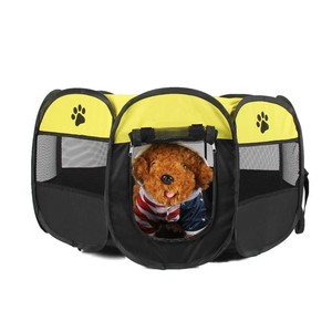Pet playpen foldable pet carrier portable cat cage kennel for dogs