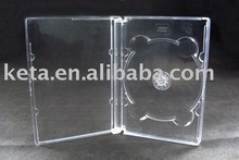 10mm Single Plastic CD DVD PS Jewel Case Media Packaging