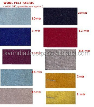 Different Types Of Felted Cloth Buy Different Types Of