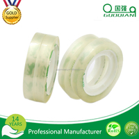 online shopping free sample colored/Transparent customer printed opp stationery tape