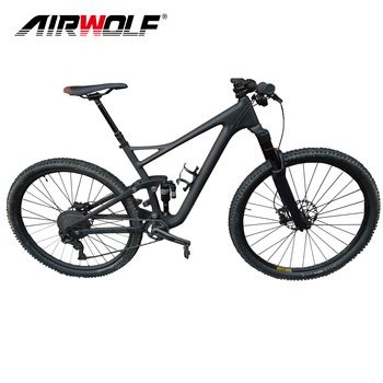 29er full suspension carbon mountain bike frame with Suspension fork mtb frame carbon 29