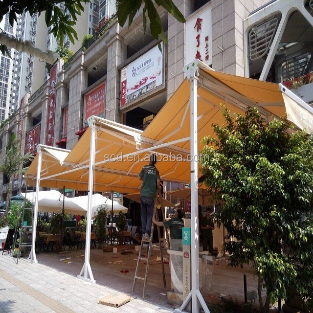 Retractable Free Standing Awning Retractable Free Standing Awning