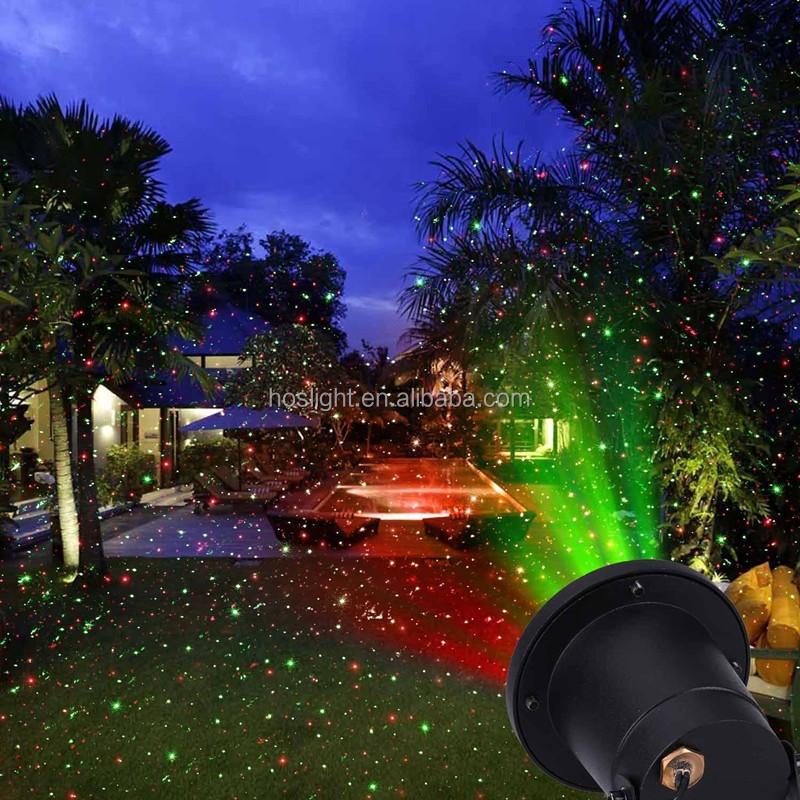 Laser Lights,Outdoor Star Projector Waterproof Rgb Motion ...