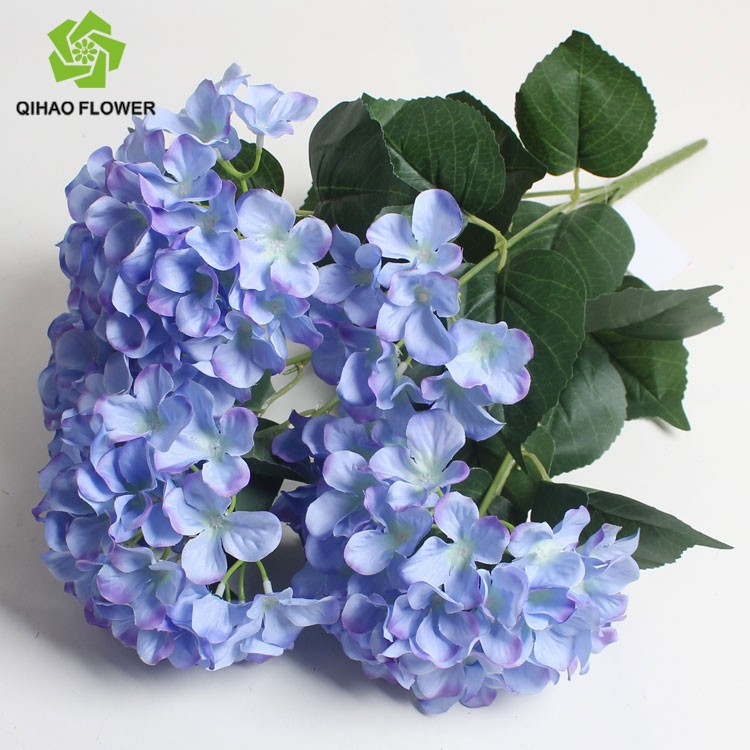 wholesale artificial silk hydrangea flowers blue silk flowers wedding bouquets buy silk. Black Bedroom Furniture Sets. Home Design Ideas