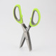Stainless Steel Herb Scissors Multipurpose Kitchen Shear with 5 Blades with Cleaning Comb