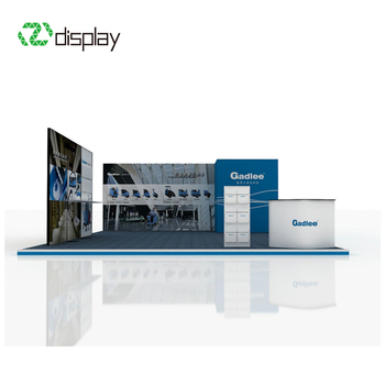 Exhibition Stand Website : Eco friendly aluminum modular recycle exhibition stand view