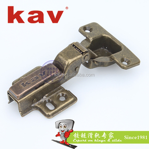 furniture fittings door concealed copper brass hinge antique hinges cabinet doors hinges (S235H08)
