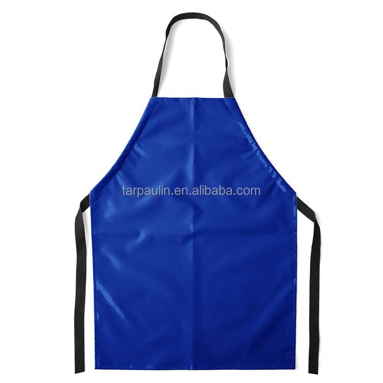 Chemicals Resistant 450gsm PVC Coated tarpaulin for Aprons