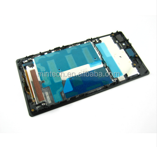Replacement Front frame housing For Sony xperia z1 l39h