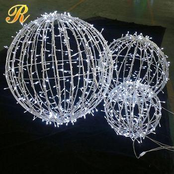 Wedding Hall Decor Hanging Christmas Light Balls Buy
