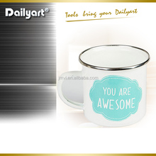 Personalized Small Order Camping Enamel Steel Mug