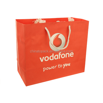 China Suppliers New Products Vodafone Paper Shopping Bag - Buy China  Suppliers Paper Shopping Bag,New Products Paper Shopping Bag,Vodafone Paper