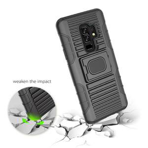 Protective Hybrid Brushed PC TPU Rubber Holster Phone Case Cover For Samsung A8 /A5