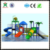 China factory game water park toys water slides fiberglass water playground equipment outdoor QX-S011