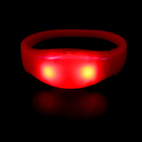 concert/music festival Remote Control Shake/Sound Activated LED Wristbands for Kids
