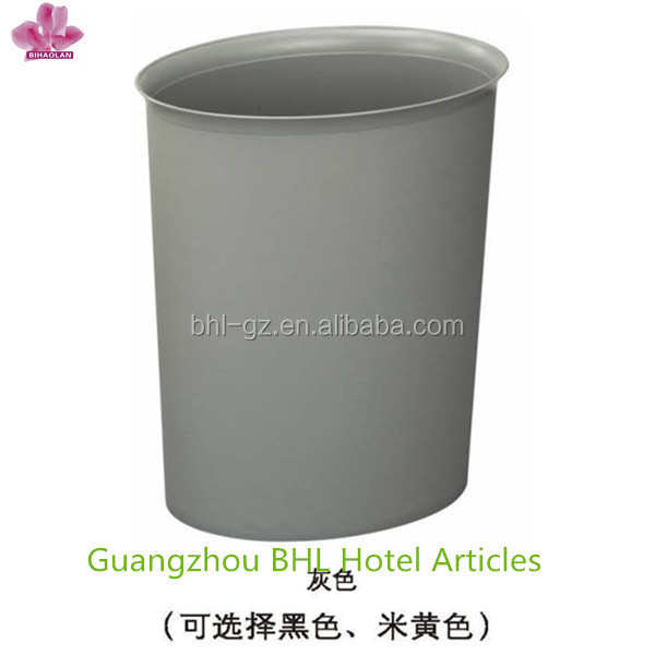Open top fireproof plastic waste bin liner, plastic wastebasket for home,manufacturer China GPX-159(PW-17)