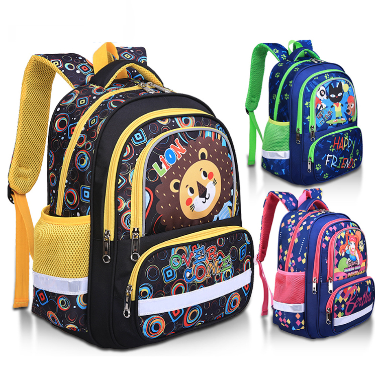 Osgoodway2 Cute 1-6 Grades Ergonomic School Backpack for Kids Bookbags Bagpack Girls