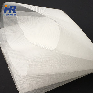 factory direct supply micro-porous nylon white filter mesh