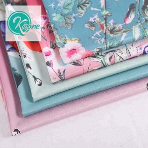 YH-06# New Arrival Kicone Factory Floral Printed Satin Woven Organza Fabric