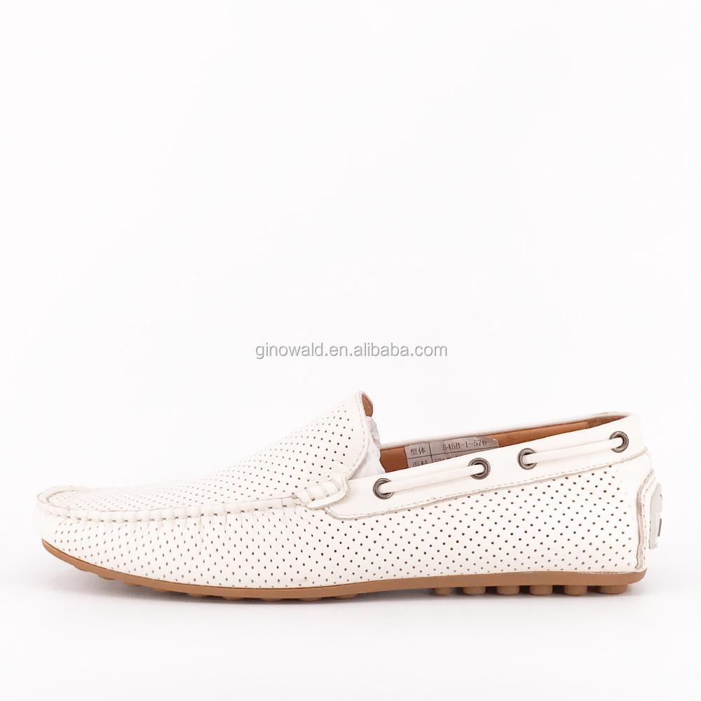 leather fancy white shoes loafer designer Hotsale breathable men w8gTxCtUq