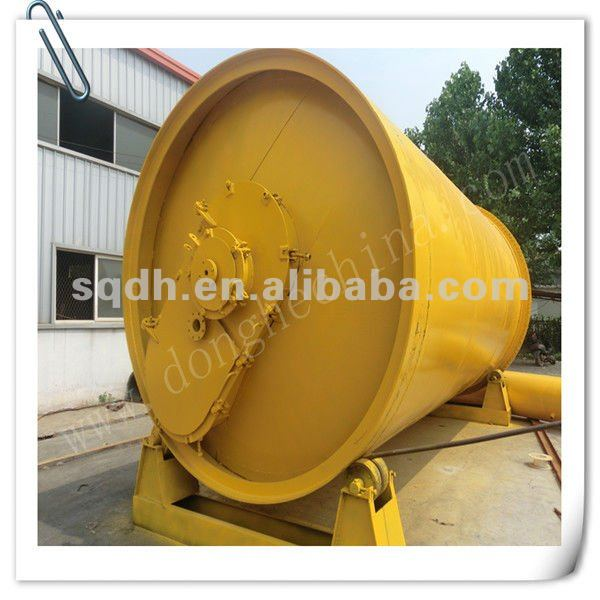 used tire pyrolysis equipment with CE