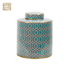 Fashion high - end decorative cans storage tank ceramic hermetically sealed jar