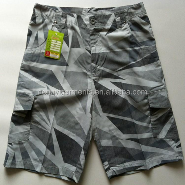 Factory New Printing Mens Boxing Shorts