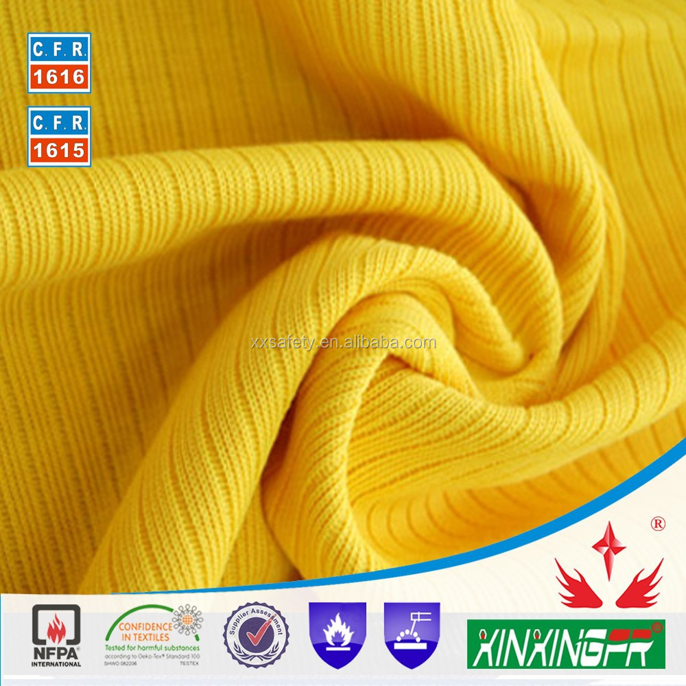 en20471 hi-vis antifire fabric for fire protection with cotton/polyester material