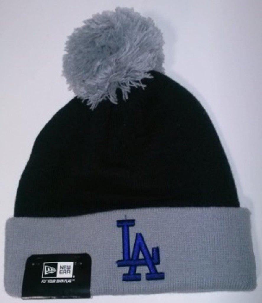 2fb78b0f Buy New Era Los Angeles Dodgers Black Bobble Badge Cuff Pom Beanie in Cheap  Price on m.alibaba.com